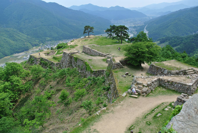 竹田城から見る絶景