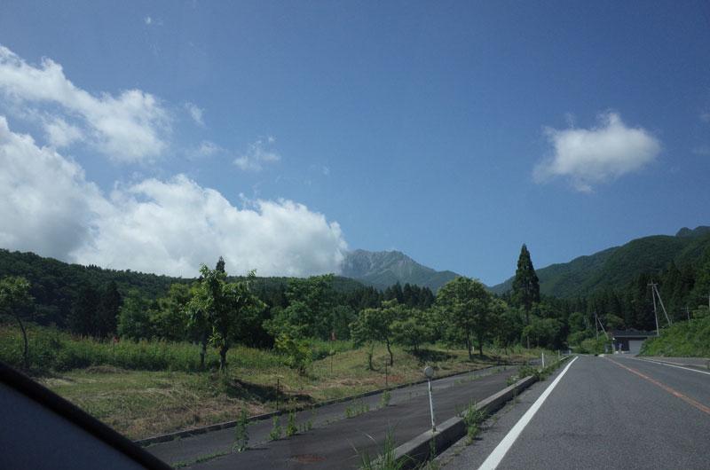 蒜山大山スカイラインのドライブルート