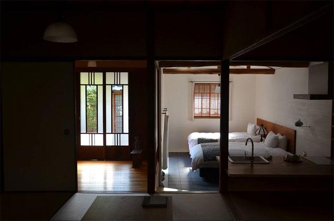 奈良の古民家宿 奈良町家 紀寺の家