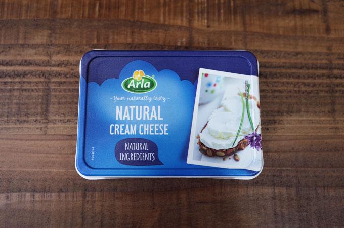 デンマーク産Arlaの無添加クリームチーズ