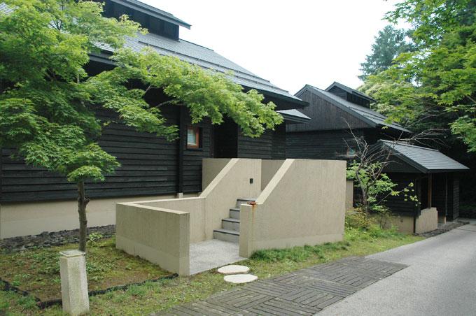 星のや軽井沢の宿泊棟