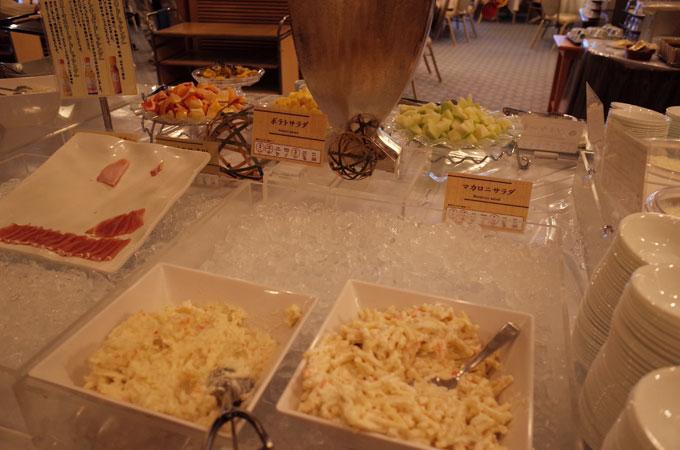 有馬グランドホテルの朝食ビュッフェ