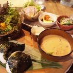 大阪福島の古民家レストラン「kei -継-」へおにぎりランチに行って来ました!