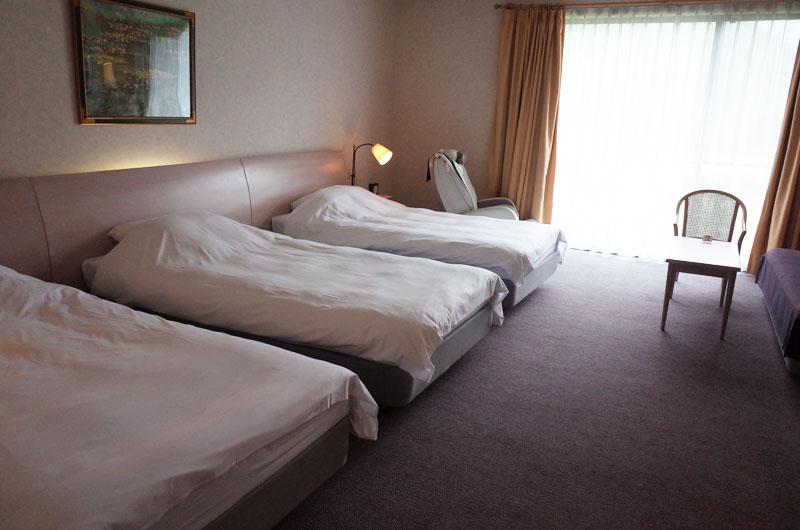 大山レークホテルの部屋