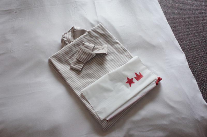 大山レークホテルのパジャマ