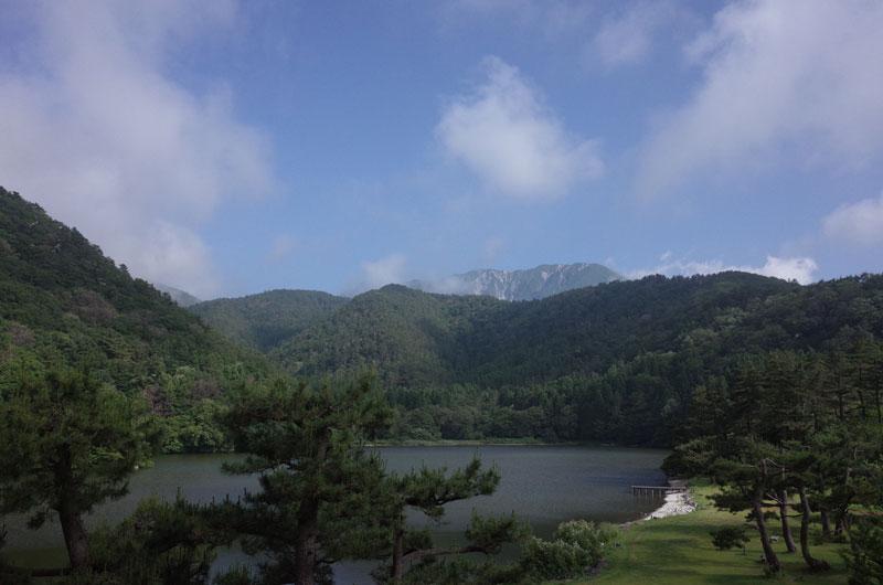大山レークホテル 部屋からの景色