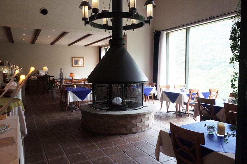 大山レークホテル レストラン