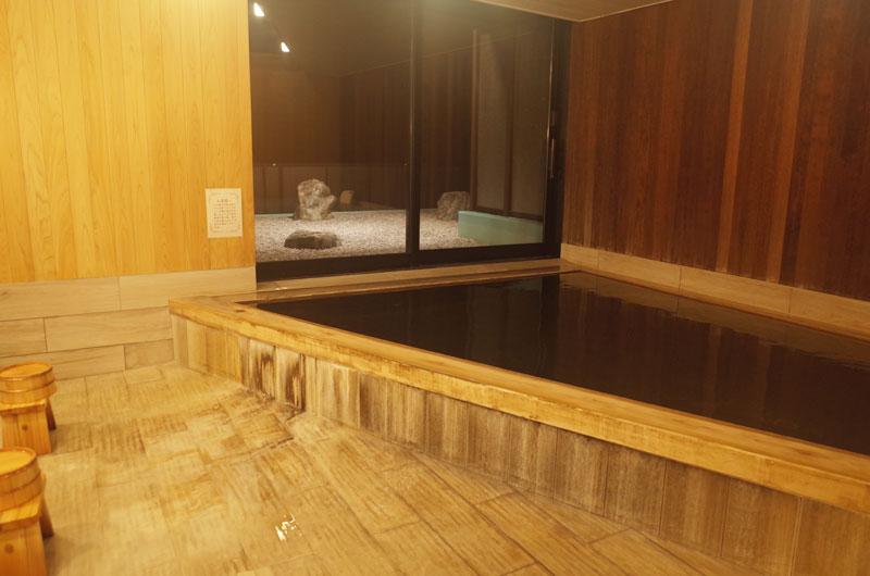 大山レークホテルの温泉