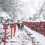 貴船神社の雪景色を見に行って来たよ!冬の絶景「奥宮」は見ごたえあり!