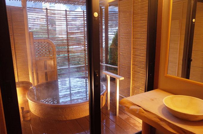中の坊瑞苑の無料貸切風呂