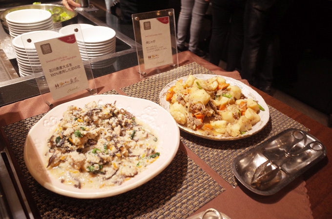 ANAクラウンホテル金沢の朝食ビュッフェ