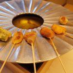藤井壮の夕食の名物ポンポン鍋は絶品!緑を眺めながらの食事は最高!
