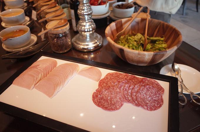 リッツカールトン大阪の朝食