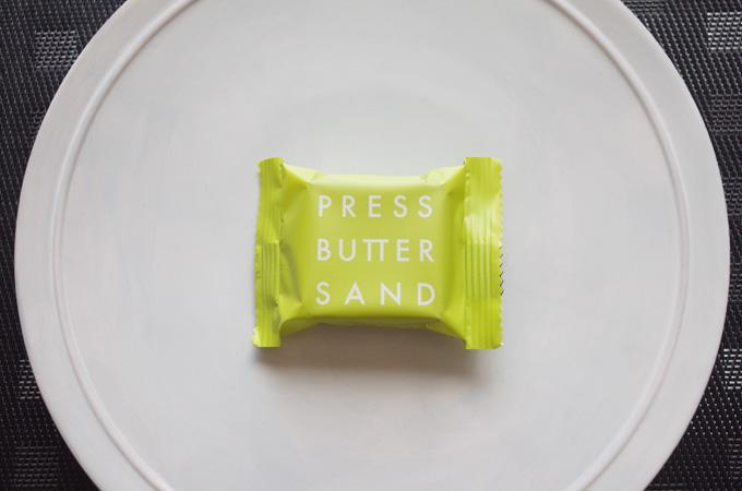 プレスバターサンドの個別包装