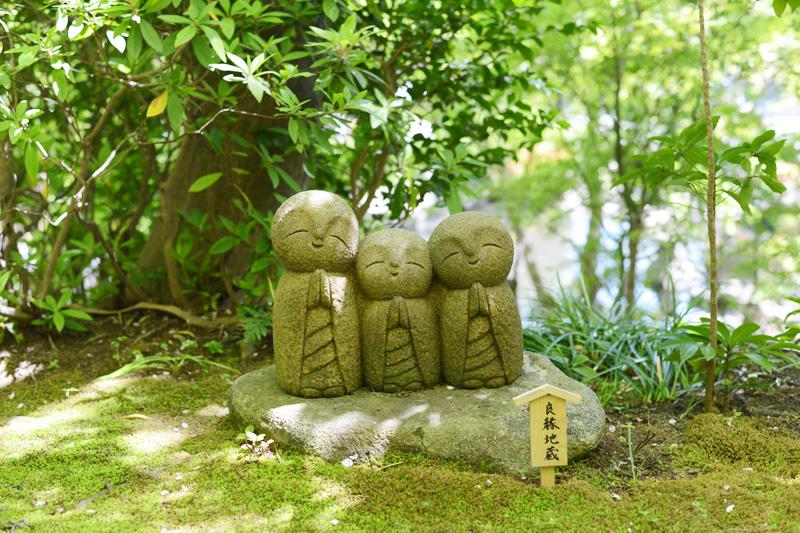 長谷寺の可愛い良縁地蔵