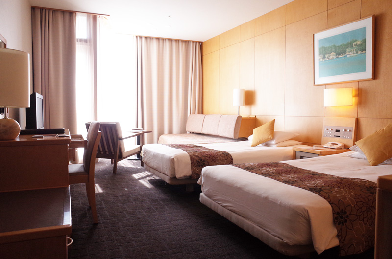 鎌倉プリンスホテルのツインルームA