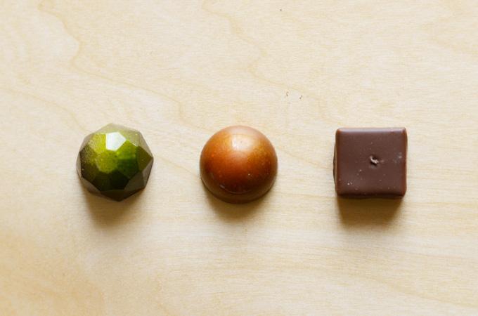ショコラティエhisashiのチョコレート