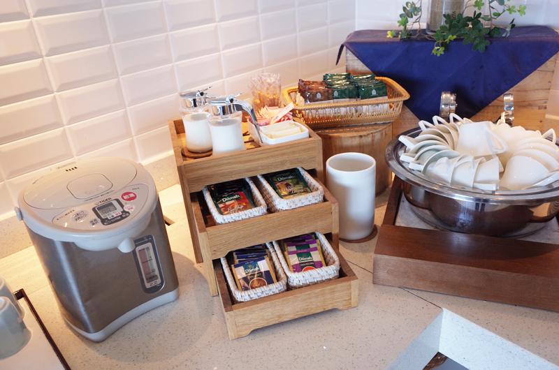 日本平ホテルの朝食ビュッフェ ドリンク