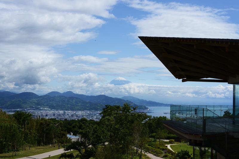 日本平夢テラスから見る富士山