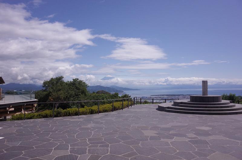 展望回廊からみる富士山