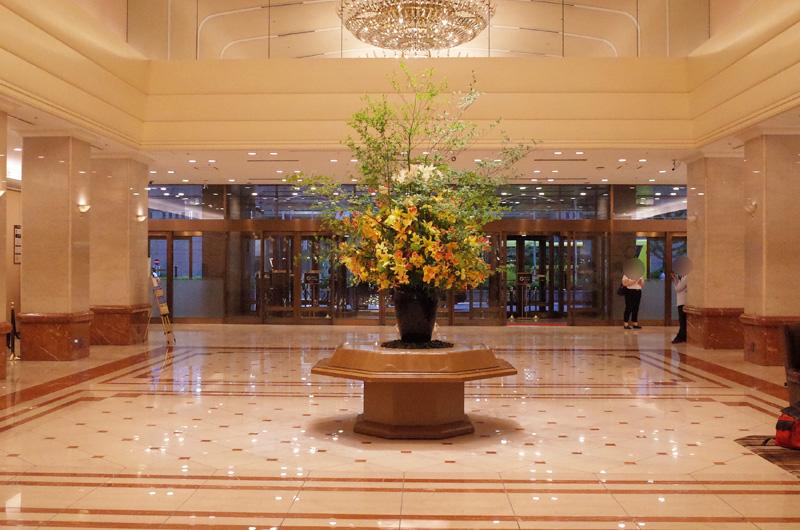京王プラザホテル新宿のロビー