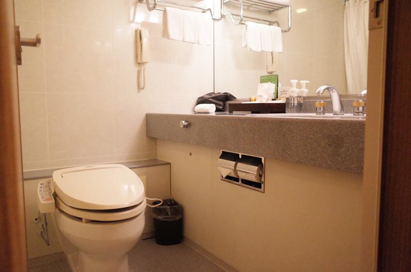京王プラザホテル新宿のバスルーム