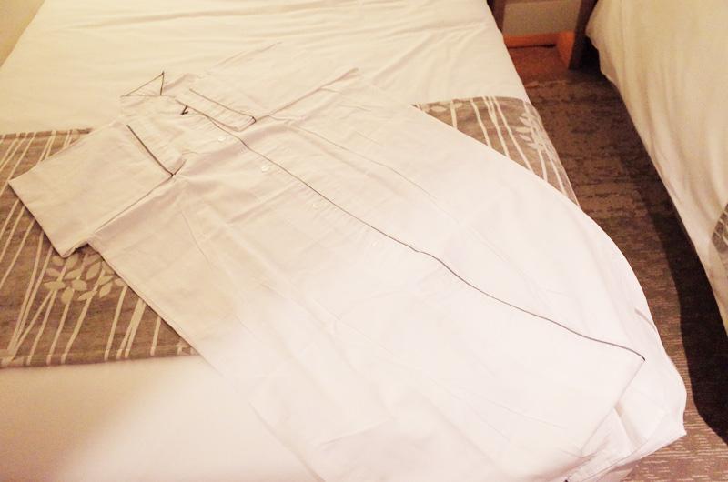 京王プラザホテル新宿のパジャマ