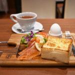 【小川珈琲京都駅中央口店のモーニングメニュー】ふわもち食感のトーストが絶品!