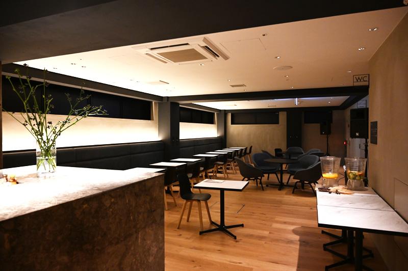 TUNE STAY KYOTOのカフェスペース