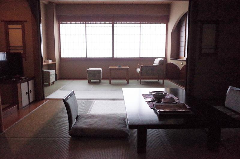 渓山閣の部屋