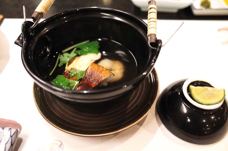 渓山閣の料理