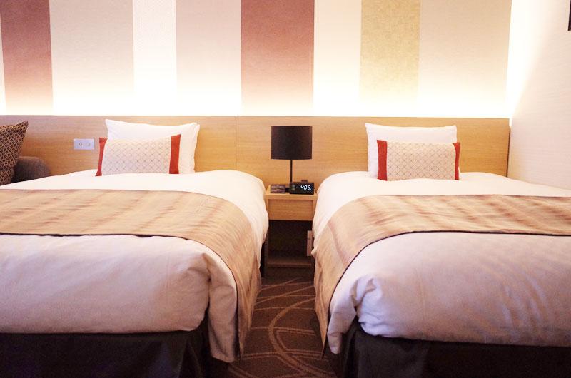 リーガロイヤルホテル京都のツインの部屋