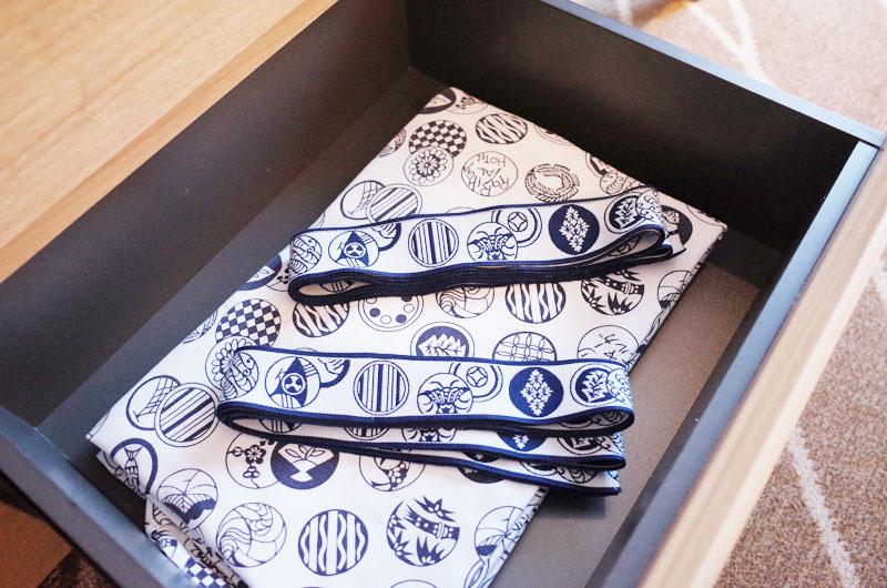 リーガロイヤルホテル京都の浴衣