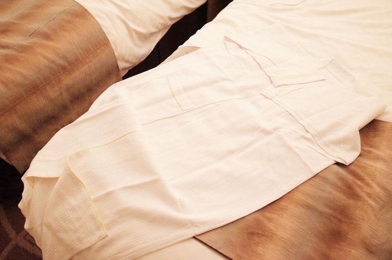 リーガロイヤルホテル京都のパジャマ