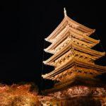 東寺の紅葉ライトアップの時間と混雑は?水面に映りこむ紅葉と五重塔が絶景!かなり穴場!