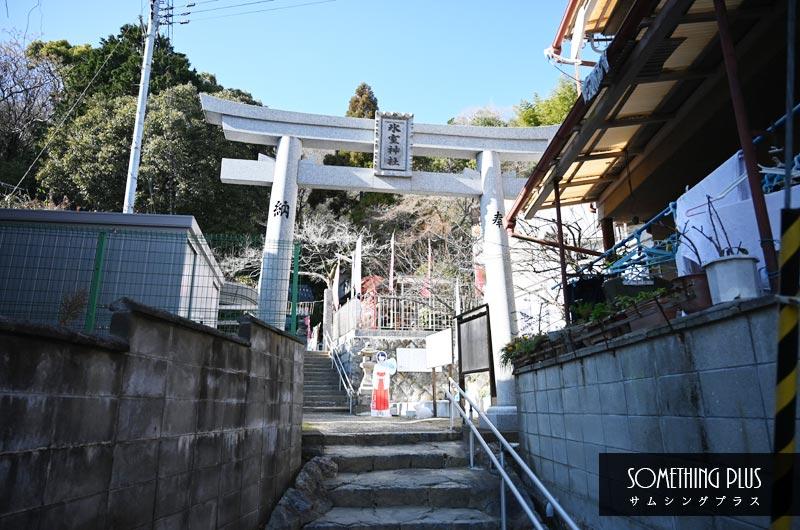神戸氷室神社の鳥居