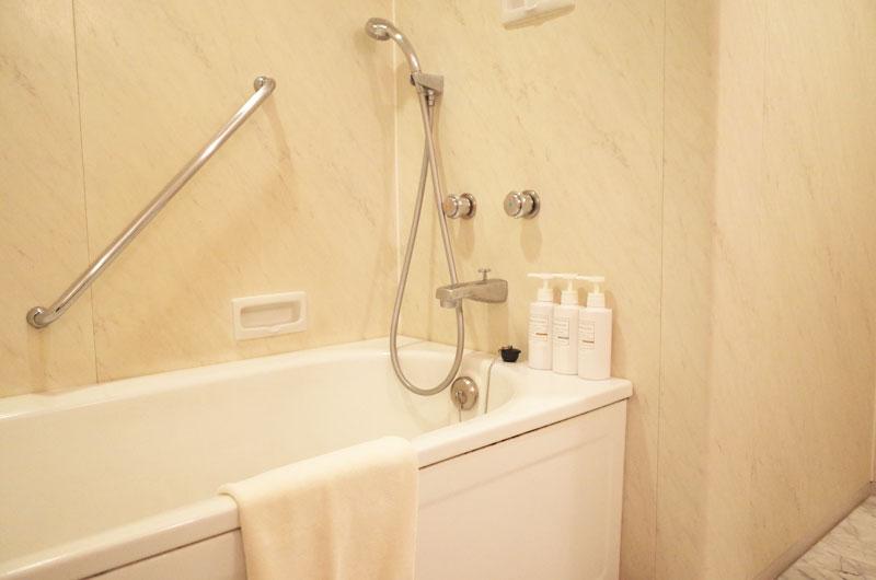 神戸メリケンパークオリエンタルホテルのお風呂