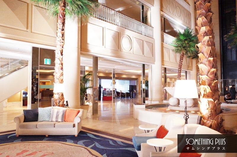 神戸メリケンパークオリエンタルホテルのロビー