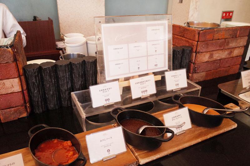 神戸メリケンパークオリエンタルホテルの朝食バイキングで名物のオムレツ