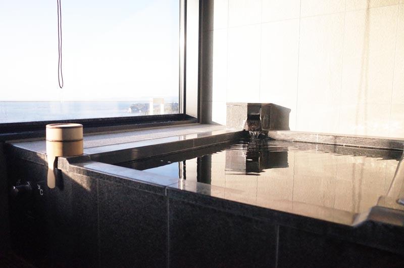 南紀白浜マリオットホテルの部屋の温泉