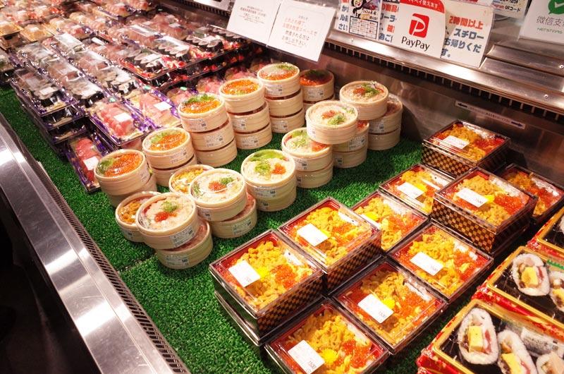 とれとれ市場のお寿司