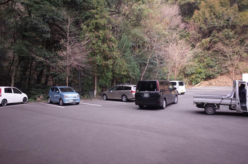 神椿の駐車場