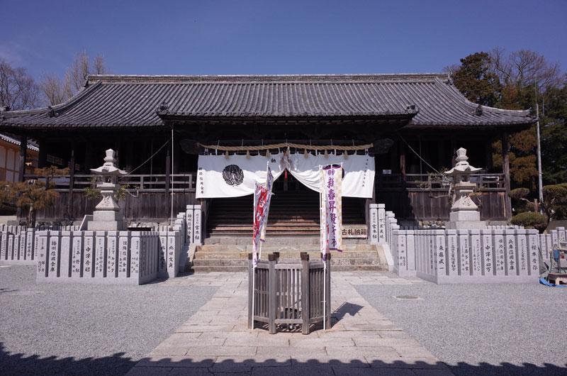 広峯神社の本殿
