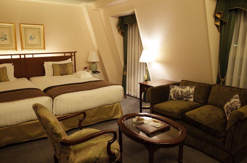 神戸北野ホテルの部屋