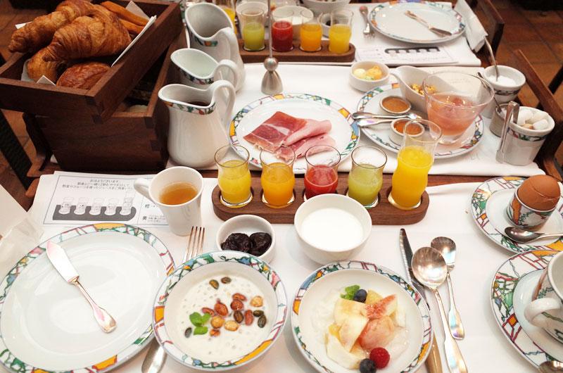 神戸北野ホテルの朝ごはん