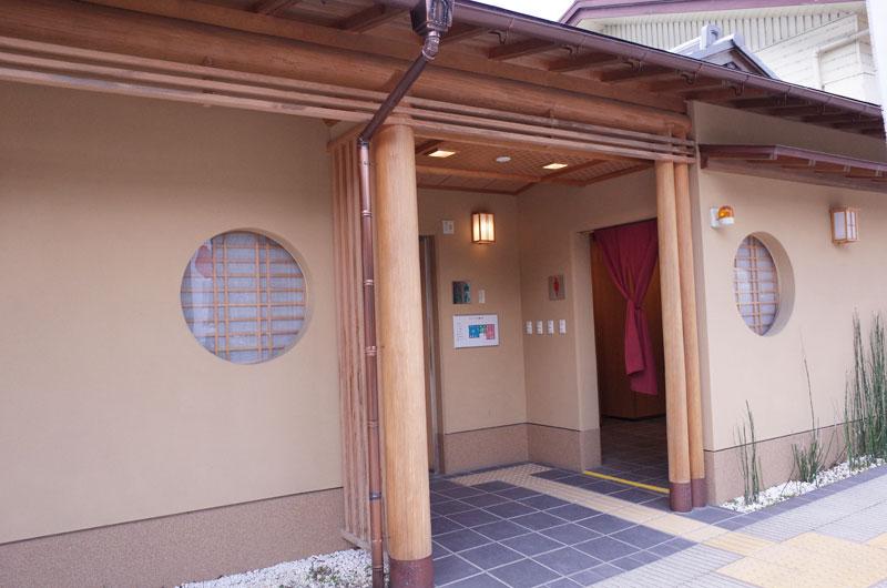 ロープウェイ書写駅のトイレ