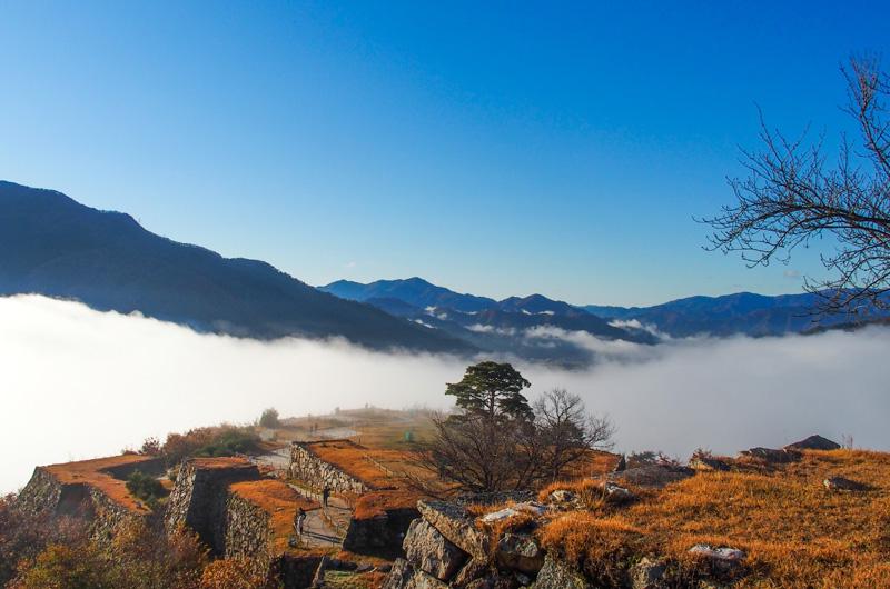 竹田城からの景色