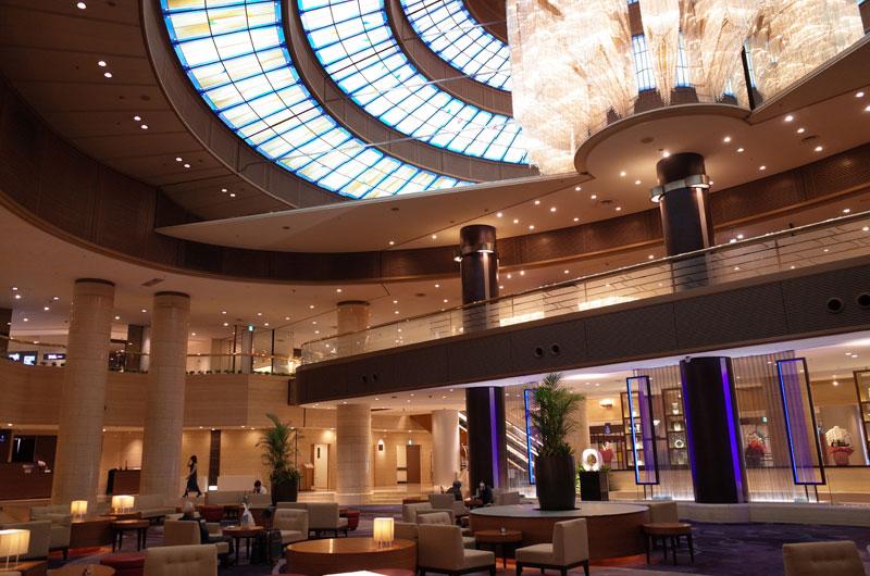 神戸ポートピアホテル宿泊記 ロビーフロア