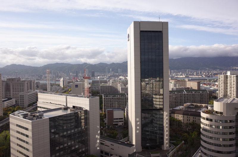 神戸ポートピアホテル宿泊記 部屋からの景色
