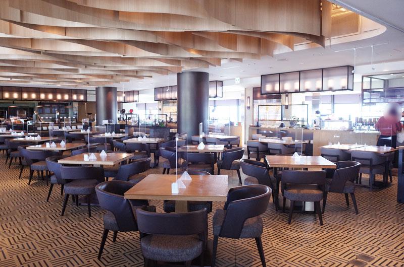 神戸ポートピアホテル宿泊記 朝食レストラン